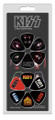 KISS Solo Faces & Logos 12 Pack Guitar Pick Set