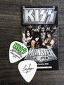 KISS Monster Common Color North America Guitar Pick 2013 Eric Singer