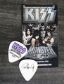 KISS Monster Common Color North America Guitar Pick 2013 Paul Stanley