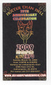 2009 Indianapolis KISS Expo Regular Admission Ticket
