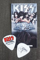 KISS Monster Common Color Europe Guitar Pick 2013 Gene Simmons
