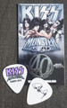 KISS Monster Common Color Europe Guitar Pick 2013 Paul Stanley