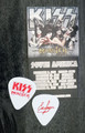 KISS Monster Common Red Guitar Pick Eric Singer
