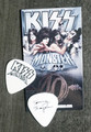 KISS Monster Europe Common Black Logo Guitar Pick Tommy Thayer
