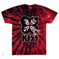 KISS Rock & Roll Over  BURST Tie-Dye Tshirt