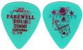 Ace Frehley KISS Hartford Guitar Pick 070800 Farewell Tour