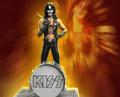 KISS Peter Criss (Hotter Than Hell) Rock Iconz Statue