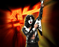 KISS Paul Stanley (Hotter Than Hell) Rock Iconz Statue