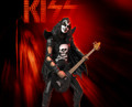 KISS Gene Simmons (Hotter Than Hell) Rock Iconz Statue