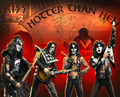 KISS (HOTTER THAN HELL) Statues SET