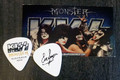 KISS Monster Common Gold Australia Eric Singer Guitar Pick
