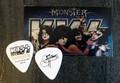 KISS Monster Common Gold Australia Gene Simmons Guitar Pick