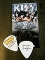 KISS Monster Europe Common Gold Logo Guitar Pick Tommy Thayer