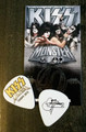 KISS Monster Europe Common Gold Logo Guitar Pick Gene Simmons