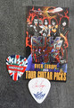 KISS Sonic Boom Europe Sheffield 050110 Guitar Pick Eric Singer