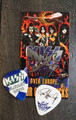 KISS Sonic Boom Europe Glasgow Scotland 050910 Guitar Pick Paul Stanley