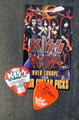 KISS Sonic Boom Europe Zurich 051610 Guitar Pick Gene Simmons