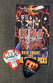 KISS Sonic Boom Europe Zurich 051610 Photo Guitar Pick Gene Simmons