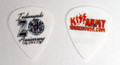 2018 Indianapolis KISS Expo White VIP Guitar Pick