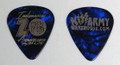 2018 Indianapolis KISS Expo Blue Guitar Pick