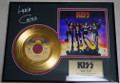 Lydia Criss Signed Beth 24KT Gold Record Award