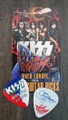 KISS Sonic Boom Europe Ostrava 052110 Guitar Pick Gene Simmons