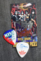 KISS Sonic Boom Europe Prague 052310 Guitar Pick Gene Simmons