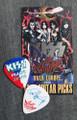 KISS Sonic Boom Europe Prague 052310 Guitar Pick Paul Stanley