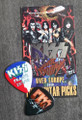KISS Sonic Boom Europe Prague 052310 Photo Guitar Pick Paul Stanley