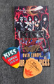 KISS Sonic Boom Europe Leipzig 052510 Guitar Pick Gene Simmons