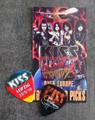 KISS Sonic Boom Europe Leipzig 052510 Photo Guitar Pick Gene Simmons
