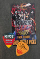 KISS Sonic Boom Europe Berlin 052610 Guitar Pick Gene Simmons