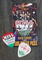 KISS Sonic Boom Europe Budapest 052810 Photo Guitar Pick Paul Stanley