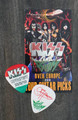 KISS Sonic Boom Europe Budapest 052810 Guitar Pick Gene Simmons