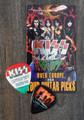 KISS Sonic Boom Europe Budapest 052810 Photo Guitar Pick Gene Simmons