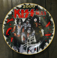 Gartlan KISSmas Plate Signed by Ace Frehley