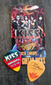 KISS Sonic Boom Europe Hamburg 053110 Guitar Pick Gene Simmons