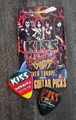 KISS Sonic Boom Europe Hamburg 053110 Photo Guitar Pick Gene Simmons