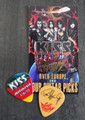 KISS Sonic Boom Europe Oberhausen 060110 Guitar Pick Paul Stanley