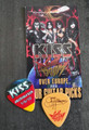 KISS Sonic Boom Europe Oberhausen 060110 Guitar Pick Gene Simmons