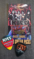 KISS Sonic Boom Europe Nurburgring 060310 Photo Guitar Pick Gene Simmons