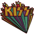 KISS Logo Stars Banner Patch