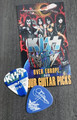 KISS Sonic Boom Europe Tampere 061010 Guitar Pick Gene Simmons