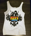 KISS Kruise III Womens Juniors Tank Shirt