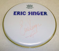Eric Singer Signed Drumhead