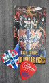 KISS Sonic Boom Europe Oslo 061410 Guitar Pick Gene Simmons