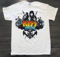 KISS Kruise III White Tshirt
