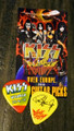 KISS Sonic Boom Vitoria 062510 Guitar Pick Paul Stanley