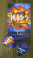 KISS Hottest Show on Earth Burbank Tonight Show 071910 Gene Simmons Guitar Pick