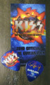 KISS Hottest Show on Earth Burbank Tonight Show 071910 Paul Stanley Guitar Pick